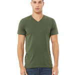 Bella+Canvas Unisex Jersey Short-Sleeve V-Neck T-Shirt
