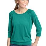 Ladies Modal Blend 3/4 Sleeve Raglan