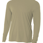 Long-Sleeve Cooling Performance Crew Neck T-Shirt