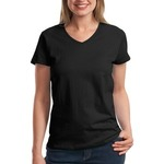 LAT Ladies V Neck T Shirt