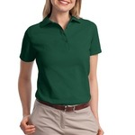 Stedman ® Ladies 7 Ounce Pique Knit Sport Shirt