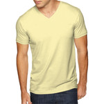 Men's Premium Fitted Sueded V-Neck Tee
