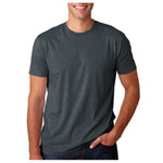 Premium Fitted Short-Sleeve Unisex Cotton Crew