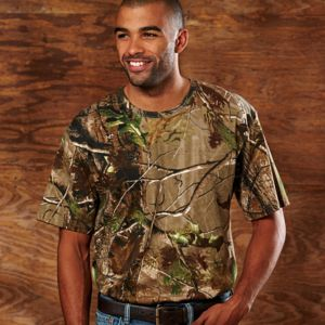 Code Five Adult REALTREE® Camouflage T-Shirt Thumbnail