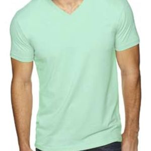 Men's Premium Fitted Sueded V-Neck Tee Thumbnail