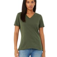 Missy's Relaxed Jersey Short-Sleeve V-Neck T-Shirt Thumbnail