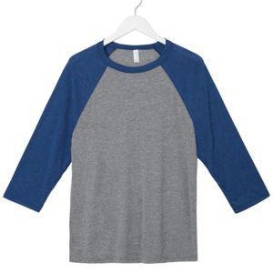 Bella+Canvas Unisex 3/4-Sleeve Baseball Tee Thumbnail