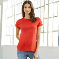 Ladies' Relaxed Jersey Short-Sleeve T-Shirt Thumbnail
