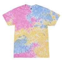 Adult 5.4 oz., 100% Cotton Tie-Dyed T-Shirt Thumbnail