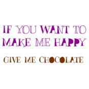 If You Want To Make Me Happy