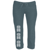 Campus Style Capri Scrunch Pants
