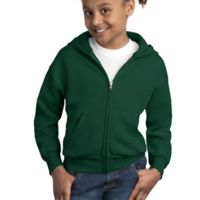 Youth ComfortBlend ® Full Zip Hooded Sweatshirt Thumbnail