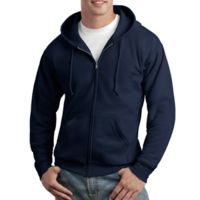 ComfortBlend ® Full Zip Unisex Hooded Sweatshirt Thumbnail