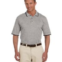 6 oz. Short-Sleeve Piqué Polo with Tipping Thumbnail