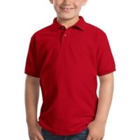 Jersey Youth Polo T-Shirt Thumbnail