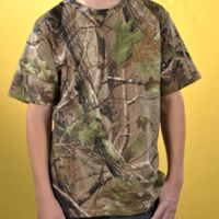 Youth Officially Licensed REALTREE® Camouflage Short Sleeve T-Shirt Thumbnail
