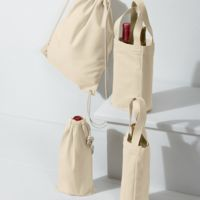 UltraClub Drawstring Wine Bag Thumbnail