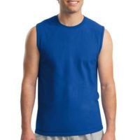 Ultra Cotton ® Unisex Sleeveless T-Shirt Thumbnail