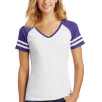 Ladies Game V Neck T-Shirt Thumbnail