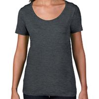Ladies' Ringspun Sheer Featherweight T-Shirt Thumbnail