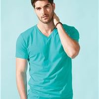 Next Level Premium Short Sleeve Fitted V-Neck T-Shirt Thumbnail