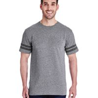 Adult Football Fine Jersey T-Shirt Thumbnail