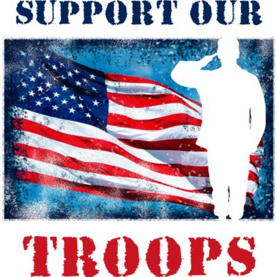 Support Our Troops (editable) Thumbnail