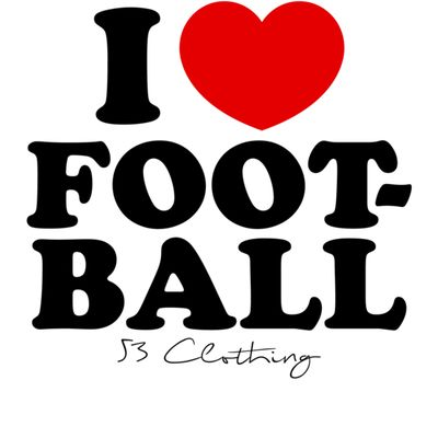 i heart football Thumbnail