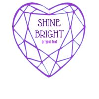 Valentine Shine Bright Diamond Heart Thumbnail